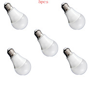 5pcs 9W E27 24XSMD5630 1200LM LED Globe Bulbs LED Light Bulbs(220V)