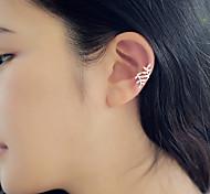 European Style Fashion Spread Leaves Temperament Earrings