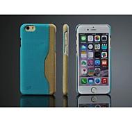 Gucci ola pu asunto con el portatarjetas para el iphone de apple 6 (color clasificado)