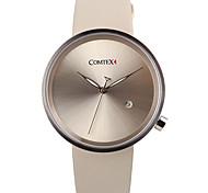 grande quadrante orologio al quarzo minimalista comtex s6199g-4 Abbigliamento donna