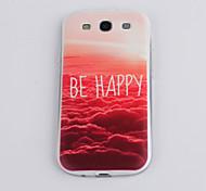 Rote Meer Muster TPU Material weich Telefonkasten für Samsung s3 i9300