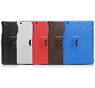 caso de microfibra caso de cuerpo completo y estuche plegable y voltear hacia arriba y abajo para Apple iPad Mini 7.9 pulgadas