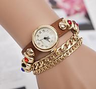 relógios senhoras moda ágata pulseira pulseira de relógio correia das mulheres do relógio de enrolamento
