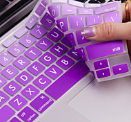 "JRC Big Letter Color Gradual Change Silicone Keyboard Cover Film for Macbook 12""  Retina"
