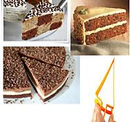 Triangle Adjustable Manual  Cake Cutter Server Pie Slicer(Random Color)
