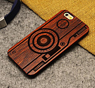 Pear Wood Camera Hard Back Cover for iPhone 6s/iPhone 6