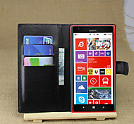 Litchi Around Open Bracket Leather Phone Wallet Card Suitable for Nokia Lumia 1520(Assorted Color)