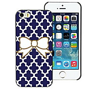 Bowknot Design Hard Case for iPhone 4/4S