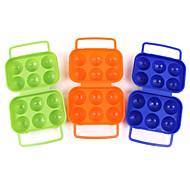 hewolf plásticos ovo recipiente azul / verde / laranja