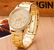 Women's Watches  Quartz  Swiss Alloy Watch Fashion Three Eye Watch Cool Watches Unique Watches