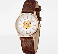 2015 Hot Women Watches Japanese Movement Hollow Surface&Ultra-thin Design of The Dial Luxury Brand Watch