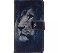 Printed Inside And Outside Lion Patterns Leather Full Body Case for Samsung Galaxy S3 I9300