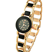 Women's Fashionable Style Round Dial Quartz Bracelet Watch Cool Watches Unique Watches