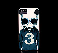 panda patroon dekking voor iphone 4 / iphone 4 s case