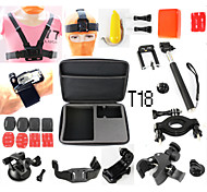 Accessories For GoPro Gopro Case/Bags / Adhesive Mounts / Straps / Mount/Holder / Accessory Kit Waterproof / Floating, For-Action Camera,