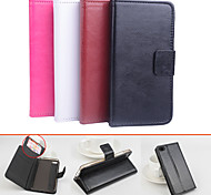 Protective PU Leather Magnetic Vertical Flip Case for Lenovo S90(Assorted Colors)