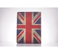 UK National Flag PU Leather Full Body TPU Case with Card Holder for Ipad 2/ Ipad 3/Ipad 4