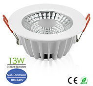 4inch 13W LED COB Recessed Downlight 900lm High Lumen 75watt Equivalent AC100-240V Europe Hot Sale