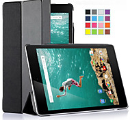 IVSO  Google Nexus 9 Case - Ultra-Lightweight Slim Smart Cover Case with Auto Sleep/Wake Function (Black)