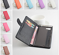 Protective PU Leather Magnetic Vertical Flip Case for Lenovo Vibe Z2(k920)(Assorted Colors)