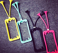 Colorful New Fashion Silicone border phone shell protective sleeve for Apple iPhone 6 Mobile Shell case