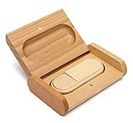 Lovely Wood Model USB 2.0 Memory Flash Drive Pen DriveU Disk Thumb Drive 4GB