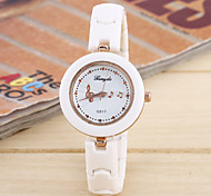 Ladies Fashion Simple Ceramic Ceramic Watch Movement China Notes