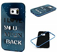 Night Sky  Pattern TPU + PC Side Combo Phone Case For Samsung Galaxy S6