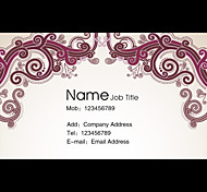 Business Cards 200Pcs Traditional Pattern of Art Paper