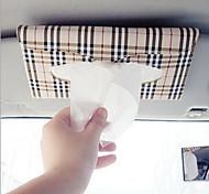автомобиль козырек ткани поле автоаксессуары держатель бумаги салфетка клипсовый кожаный чехол ПУ