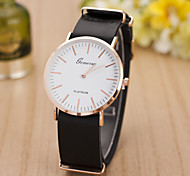 2015 The New Fashion Male Woman with The Same Paragraph Belt Watch Simple Scale Swiss Alloy Quartz Watch