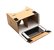 DIY Cardboard Virtual Reality 3D Glasses for Phone