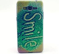 Smile Pattern PC Material Phone Case for Samsung GalaxyGrand Prime G530
