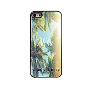 Personalized Gift Aloha Design Aluminum Hard Case for iPhone 5/5S