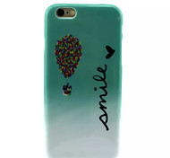 Cover Back Case Smile TPU Soft Case Special Design for iPhone 6