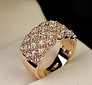 Ring Wedding / Party / Daily / Casual / Sports Jewelry Alloy Women Statement Rings 1pc,8