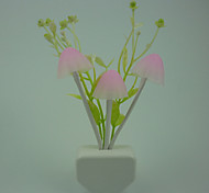 Rose Led Color Light Control Sensor Night Light Wall Lamp