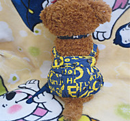 Dog Pants Yellow Summer Jeans
