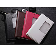 InternatiOnal Version Of The Pu Leather Specially Designed Body Open The Window For Huawei P8 (Assorted Color)