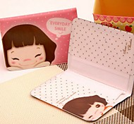 Cutie Korean Girl Stylish Multi Color Card Holder (Random Delivery 12 Cards)