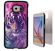 de tijger ontwerp aluminium koffer voor Samsung Galaxy s6