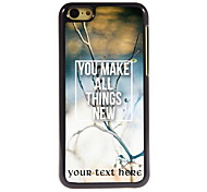 Personalized Gift You Make All Things New Design Aluminum Hard Case for iPhone 5C