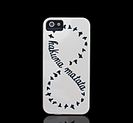 Infiniti patroon dekking voor iphone 4 case / iphone 4 s case