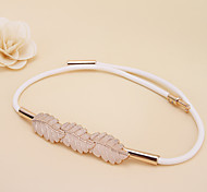 Women Elastic Fashion Belt Party/Casual Alloy Others Skinny Belt