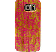 Pink Elephant  Pattern TPU Soft Case for Samsung Galaxy S6
