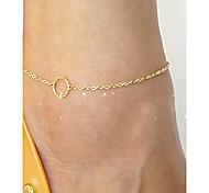 Fashion Summer Beach Circle Anklet(1pc)