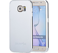 Magic Spider®Silver Mirror Design Metal Bumper Removeable Hard Back Case with Screen Protector for Samsung Galaxy S6