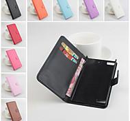 de cuero flip caso protector magnético para z3 blackberry (colores surtidos)