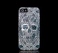 modelo del cráneo duro para el iphone 5 caso para el iphone 5 s