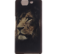 The Lion Face Design TPU Soft Cover for Wiko HIGHWAY